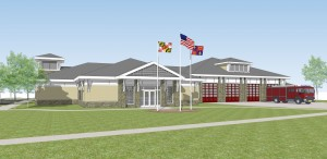 Glenmont Fire Station No. 18 rendering PHOTO | Montgomery County