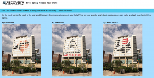 Silver Spring  Choose Your Shark