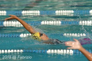 All Star: Sammie Grant, Daleview, wins Girls 13-14 100 IM, Time of 1.12.75