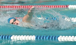 All Star: Dylan Gribble, Manchester Farm, wins Women 15-18 100 M IM, Time of 1.06.67