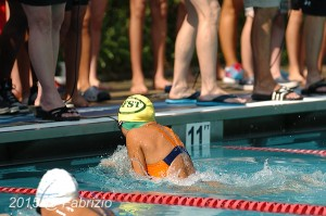 All Star: Joyce Wu, King Farm, wins Girls 9-10 25 M Breast with time of 18.46