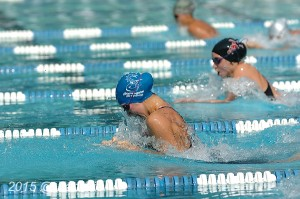 All Star: Cassandra Sanidad, Stonegate, wins Girls 13-14 50 M Breast with tim of 33.76