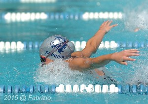 All Star: Carly Sebring, Damascus, wins Girls 9-10 25M Fly with time of 14.81