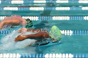 All Star: Tia Thomas, Stongate, wins Girls 11-12 50 M Fly with time of 30.38