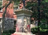 confederate soldier statue vandalism 2