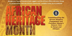 African Heritage Month Proclamation