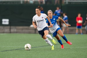 Boston Breakers vs. Washington Spirit on August 8. Photo: Mike Gridley