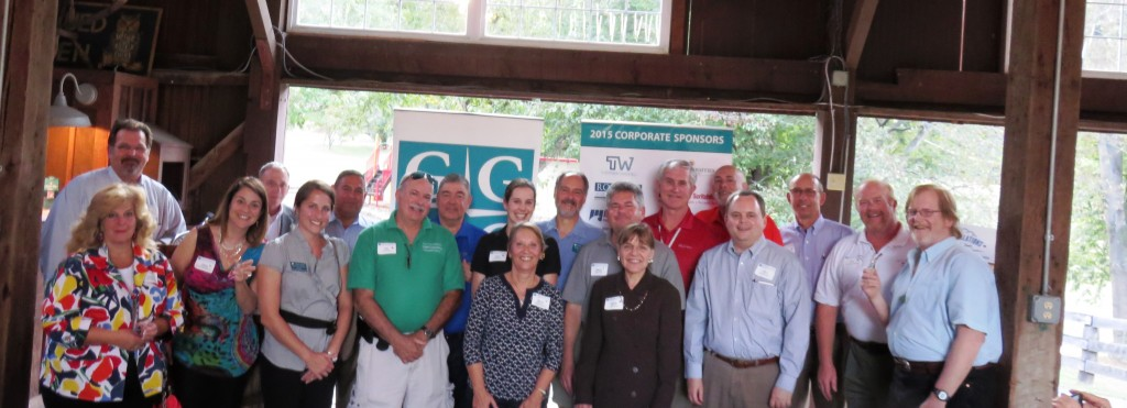 (l:r) The Gaithersburg-Germantown Chamber of Commerce recognized Chamber Members who have been members for 10+, 20+ & 30+ years at its Annual Membership & Volunteer Picnic on September 17, 2015 at Smokey Glen Farm.  (Photo credit – Laura Rowles, GGCC Director of Events & Marketing)