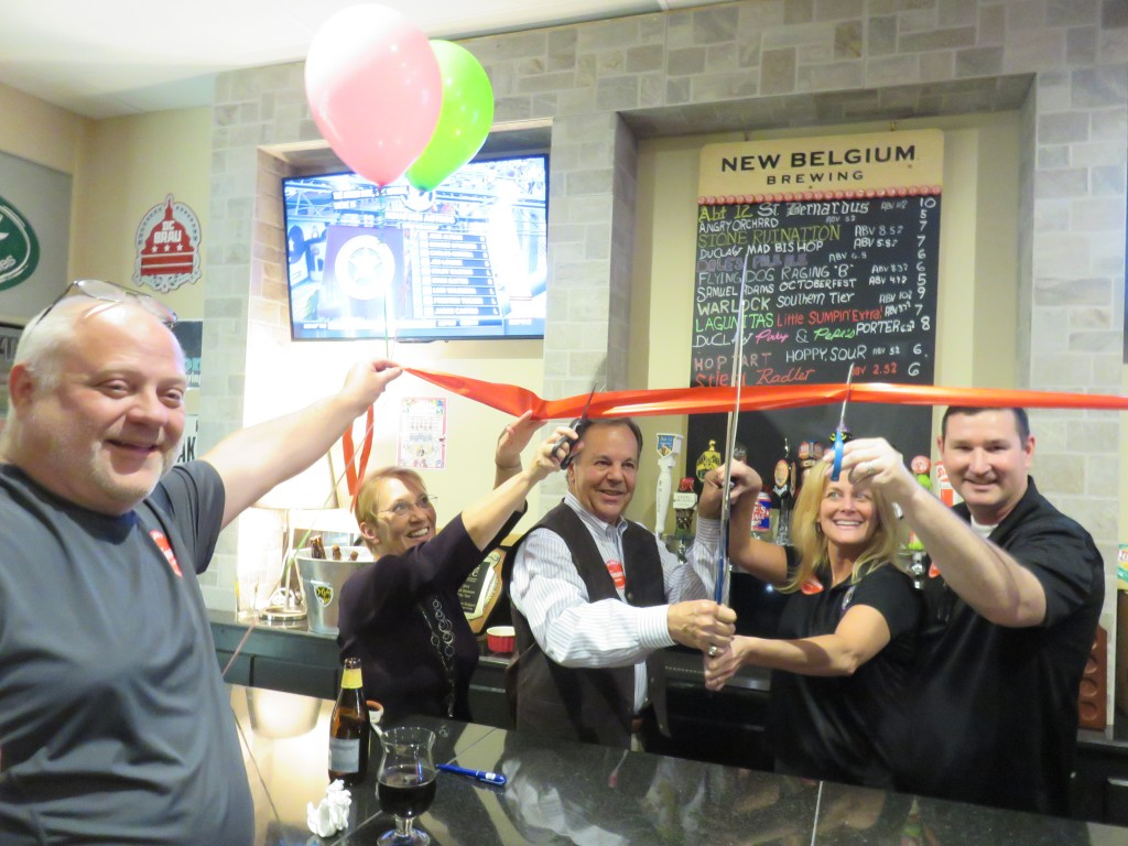 Pinky and Pepe's Grape Escape Ribbon Cutting