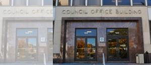 Council Office Building 885x380