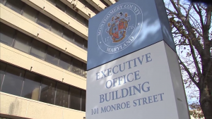 EOB Executive Office Building sign