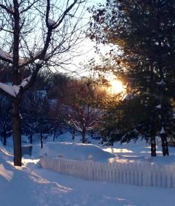 sunrise Gaithersburg snow