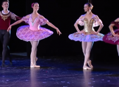Ballerinas on stage arts & humanities awards