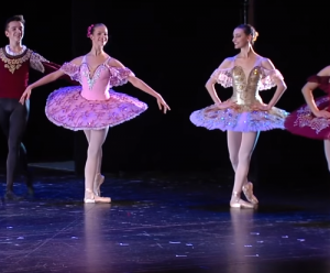 Ballerinas on stage arts & humanities awards