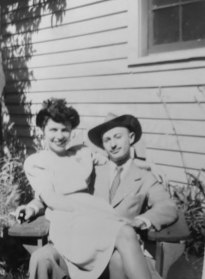 Harry and Jeanette, July 1945