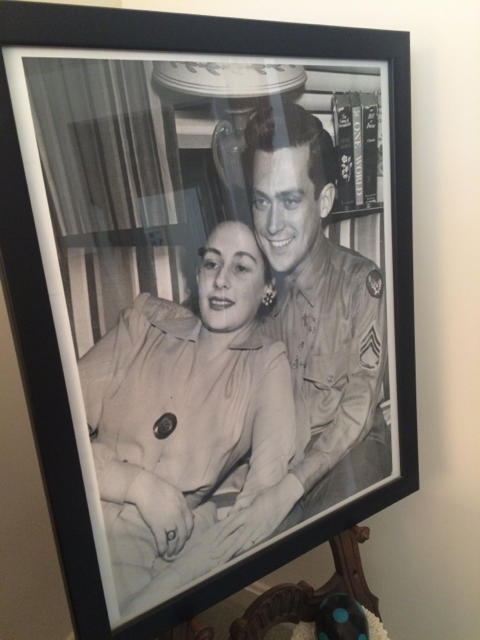 Lesley Easton is Riderwood's Leap Year Baby. She is pictured with her beloved Ralph shortly after they married in 1942.
