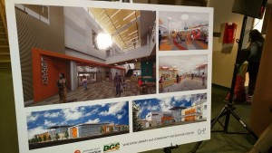 Wheaton Library rendering