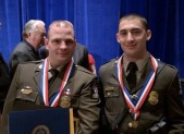 Officers Cody Fields and Brian Nesbitt