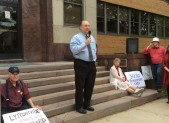 marc elrich at westbard rally