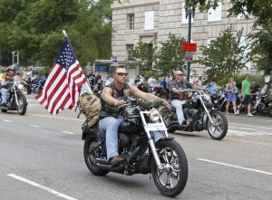 Rolling Thunder Motorcycles in Washington DC for Rolling Thunder