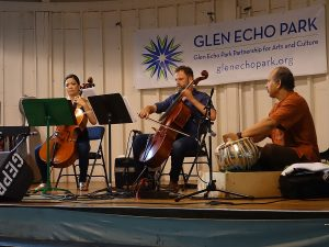VERGE ensemble at Glen Echo Park