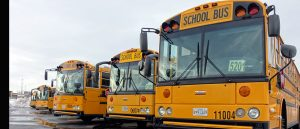 MCPS school bus parking for slider 885 x 380