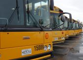 MCPS school buses lined up featured image