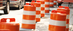 Road Construction Cones 885x380