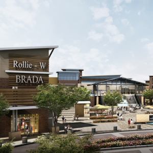Clarksburg Premium Outlets rendering square
