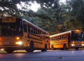 MCPS school buses leave Bethesda depot first day of school 2016 featured.fw