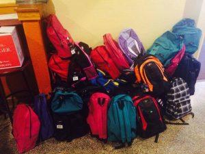 El Golfo school supplies drive PHOTO | Erin Taylor