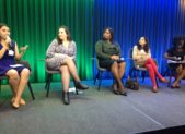 Panelists at the International Day of the Girl Child Event,