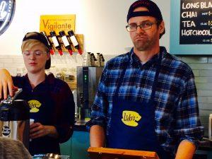 PHOTO | Bump 'n Grind Owner David Fogel poses as Luke Danes