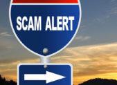Scam alert feature