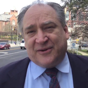 Marc Elrich on the street