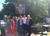 Michael J. Doran Memorial Bridge Dedication.