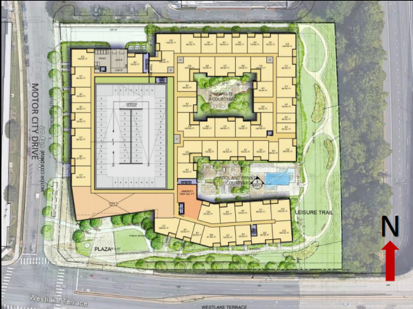 Planning Board Roves Sketch Plan For Apartment Building Near Montgomery Mall