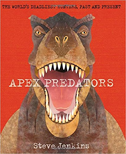 book cover for apex predators by steve jenkins