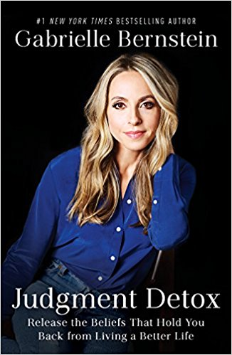 book cover for the judgment by gabrielle bernstein