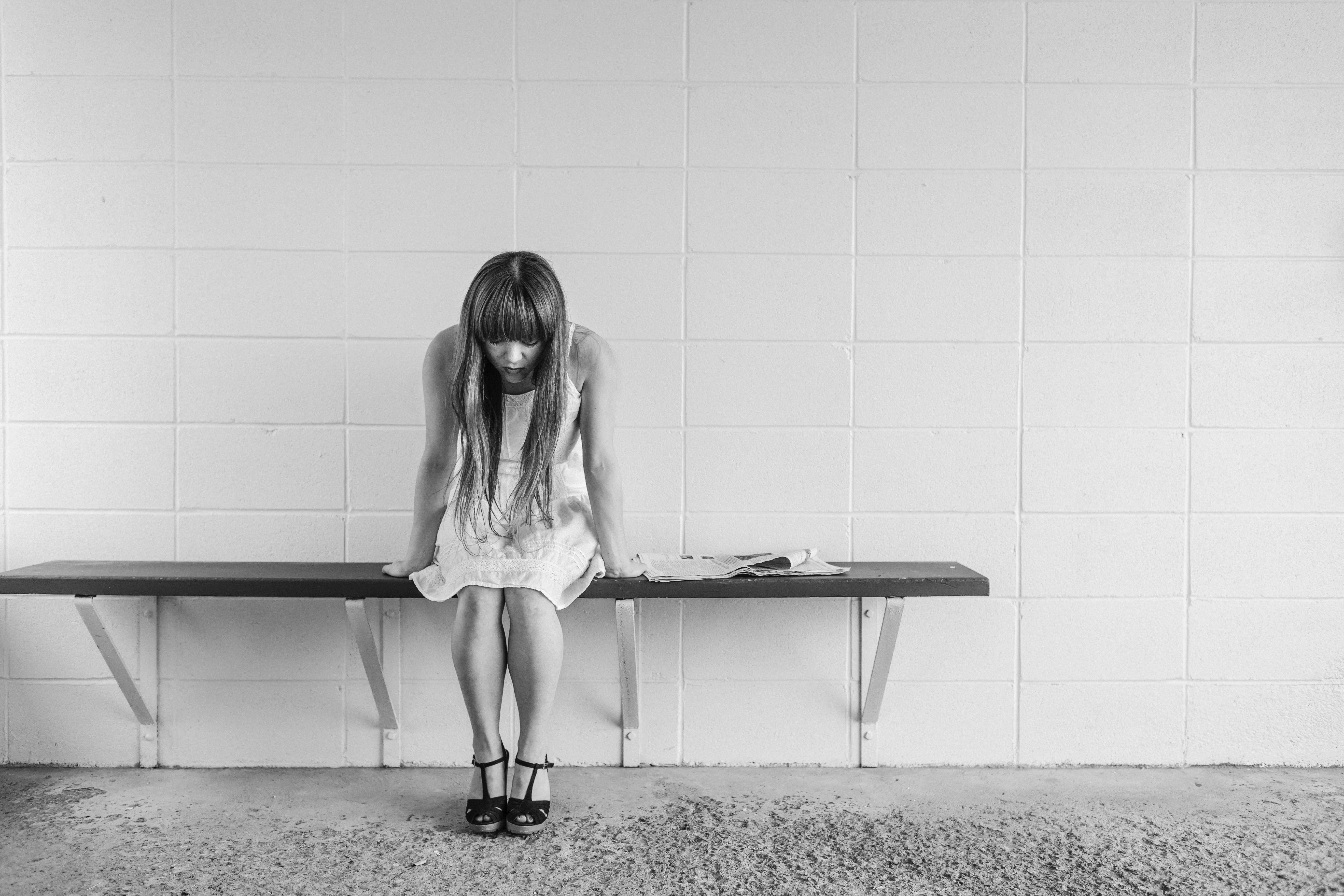 Black and white depressed depression 2369 montgomery community media