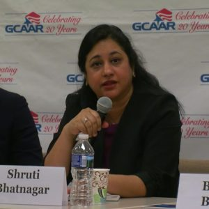 Photo of Shruti Bhatnagar at GCAAR Forum