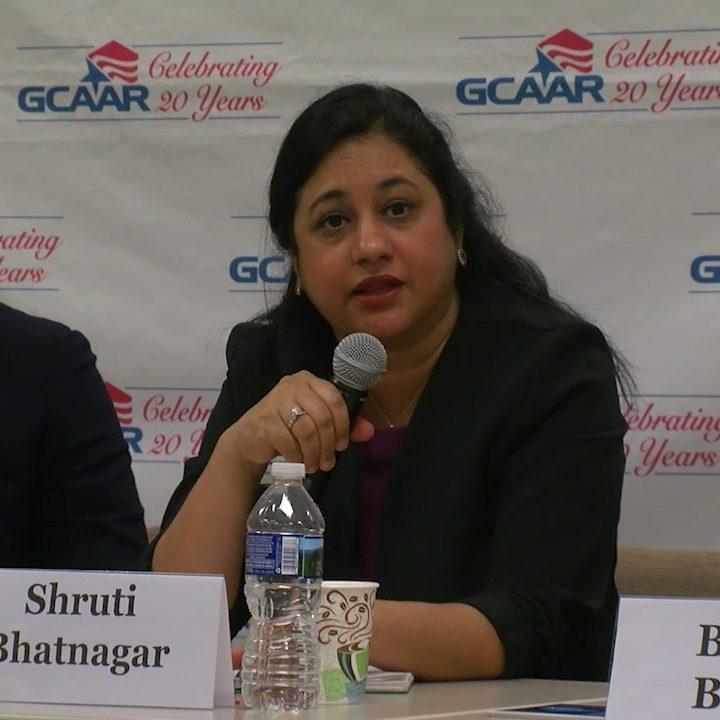 Photo of Shruti Bhatnagar at GCAAR Forum
