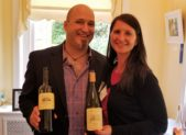 Linda Siddera of Casale Del Giglio flew from Italy to pour wine at the 15th Annual Gaithersburg-Germantown Chamber of Commerce Wine Tasting held at the Kentlands Mansion in Gaithersburg, Maryland.  The Chamber was honored to have her and her wines. Siddera is pictured with Nick Materese, Sommelier, of Siema Wines. Casale del Giglio currently offers a range of twenty-two products – seven white wines, one rosé, seven reds, one late harvest, three grappas and an extra virgin olive oil. (Photo credit: Laura Rowles, Director of Events & Marketing, Gaithersburg-Germantown Chamber of Commerce)