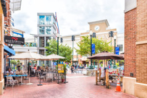 photo of Downtown area of Silver Spring in Maryland