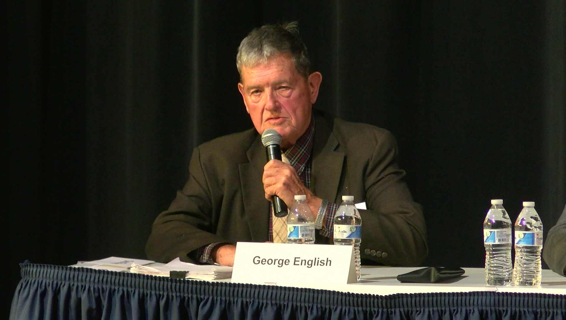 Photo of George English