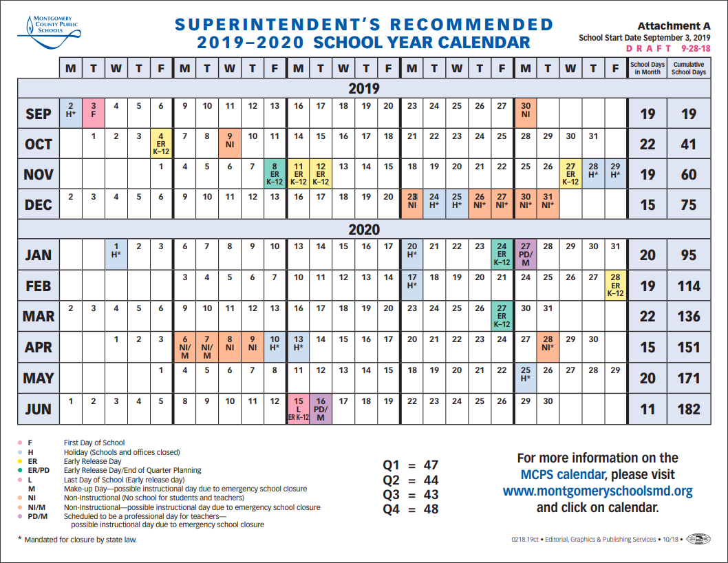 Jewish Calendar 2019.School Board To Vote On 2019 2020 School Year Calendar Tuesday