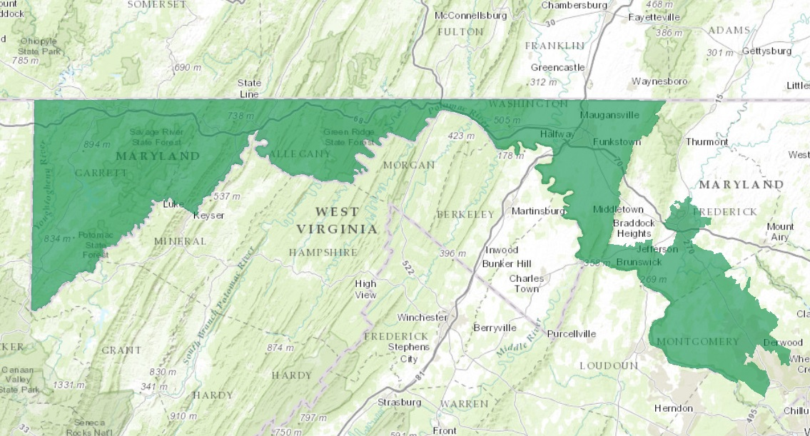 Maryland S Sixth District Boundaries Struck Down By Court