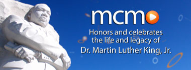 Martin Luther King, Jr. Day graphic linking to 2020 MLK Day content
