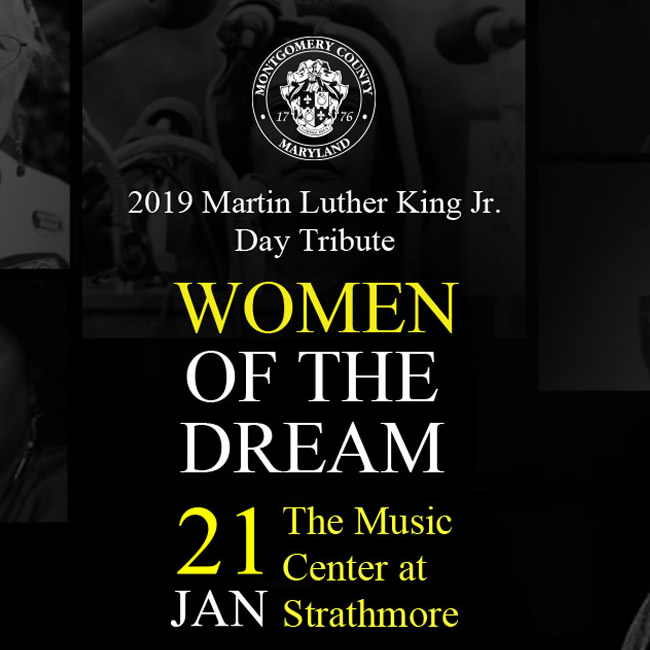 2019 Martin Luther King Jr Day Tribute Women Of The Dream