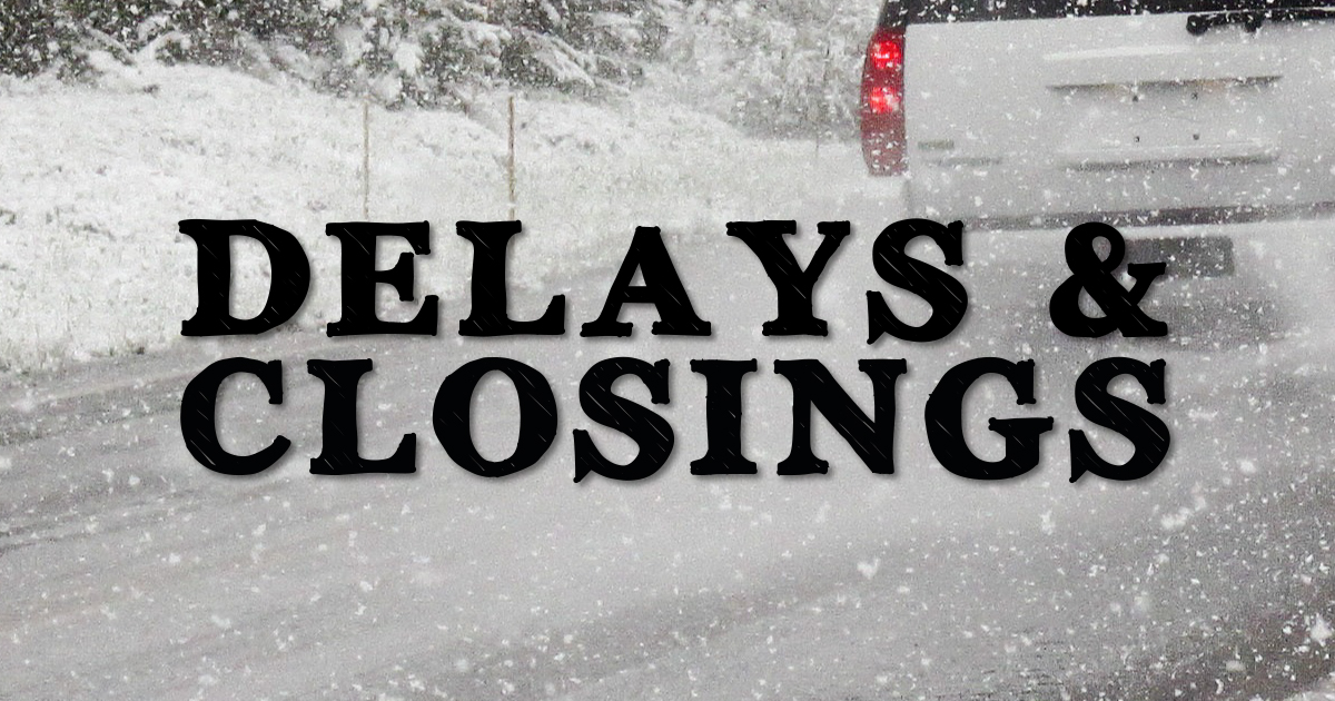 Wednesday's Winter Storm Causes Closings in Montgomery